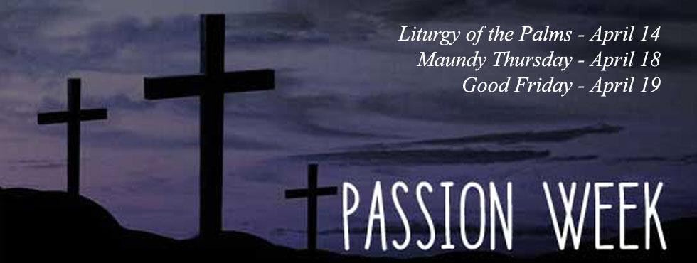 2019---passionweek